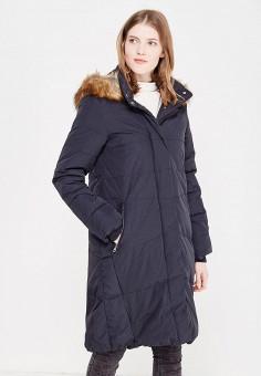 Пуховик, Zarina, цвет: черный. Артикул: ZA004EWXRM10. Женская одежда / Верхняя одежда / Пуховики и зимние куртки