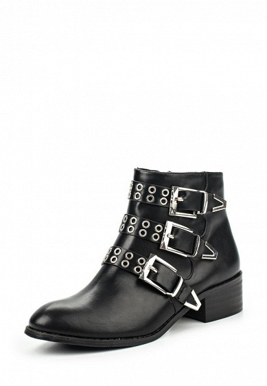 Ботинки LOST INK SHANE EYELET DETAIL BUCKLES BOOT